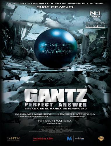 Ver Gantz: Perfect Answer (Gantz: Part 2) (2011) Online