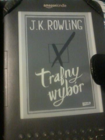 """Emigrantka czyta- J.K. Rowling """"Trafny wybór"""""""