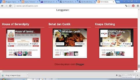 Cara Menambahkan Fans Page Facebook di Blog