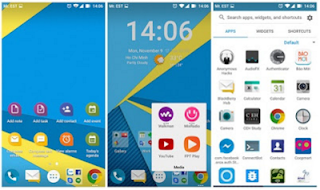Cara Install LauncherKeyboard Blackberry Priv di Android Lollipop