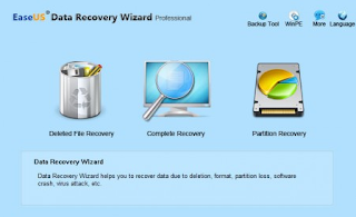 EASEUS Data Recovery Wizard WinPE Edition 5.8.5 Retail