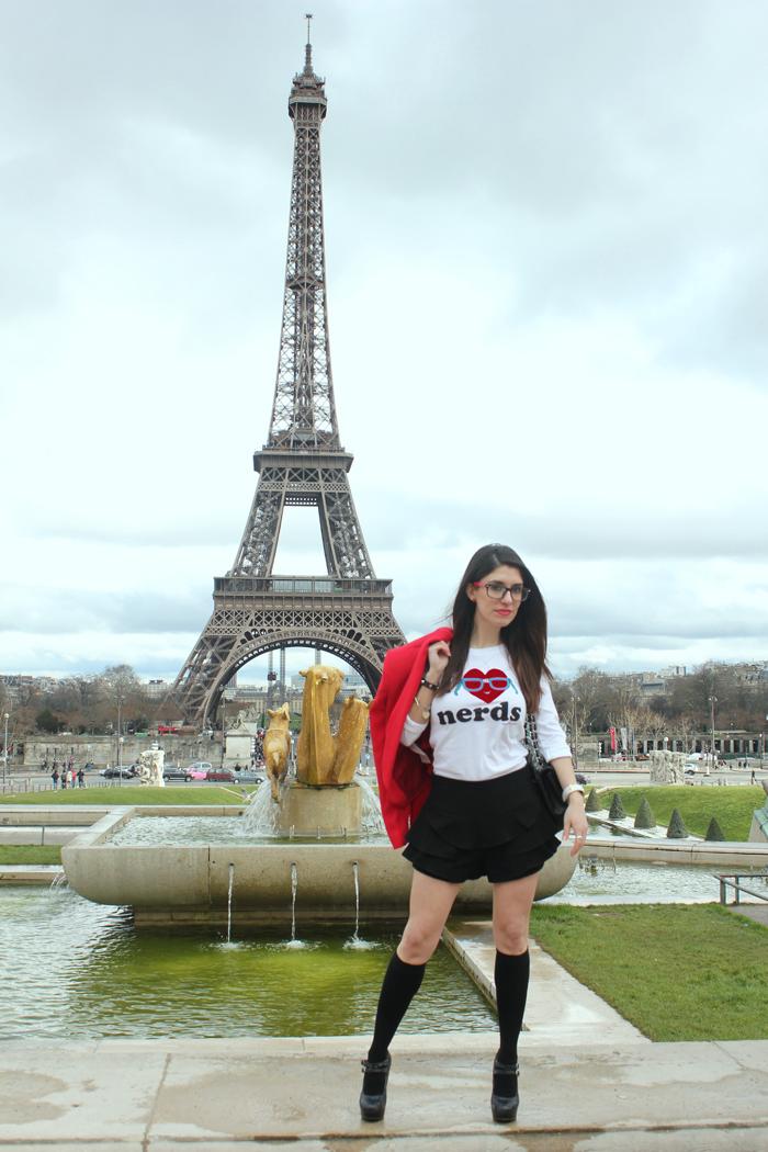 diana dazzling, fashion blogger, fashion blog,  cmgvb, como me gusta vivir bien, dazzling, luxury, Firmoo, nerd, glasses, nerd chic, i love nerds, paris, Eiffel tower, tour Eiffel, cite chaillot