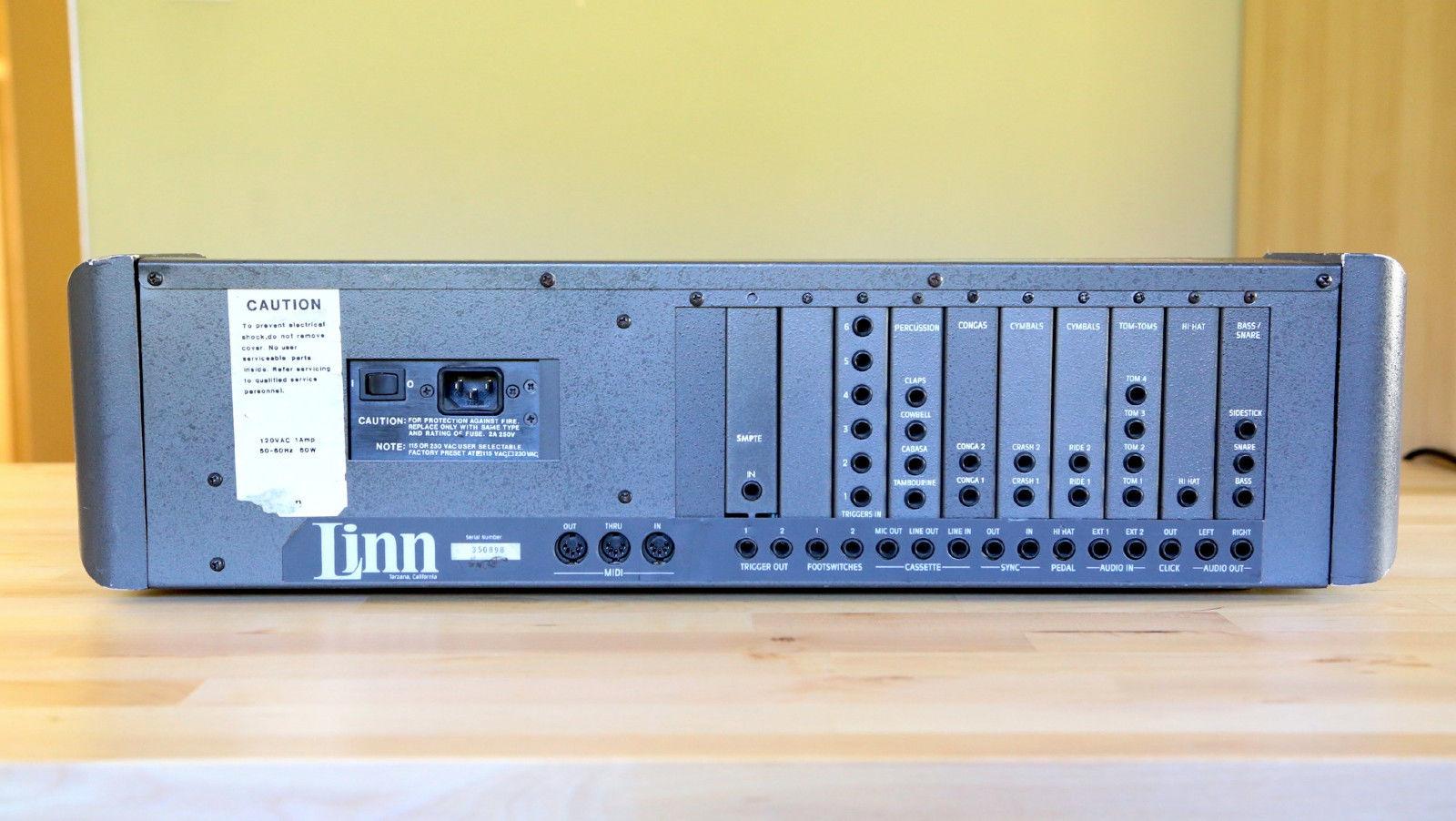 computer lm-1 the linn drum