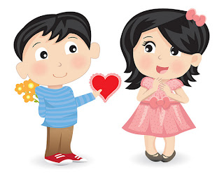 pareja demostrando su amor