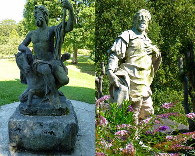 Statues, Holker, Neptune, Inigo Jones