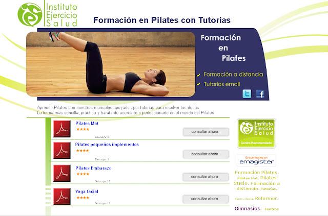 Instituto Ejercicio y Salud - Formación en Pilates