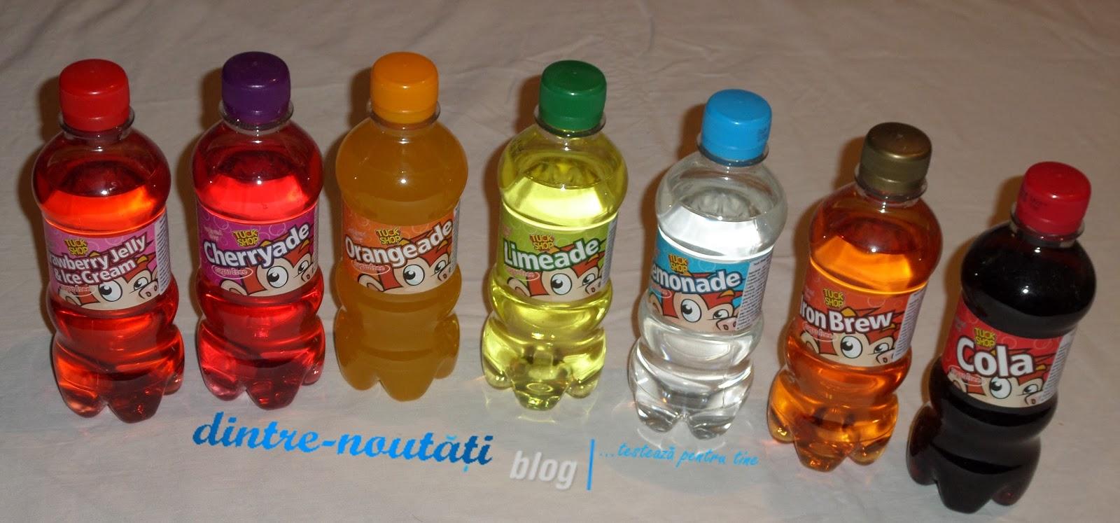 COLA, IronBrew, Lemonade, Limeade, ORANGEADE, Cherryade, Strawberry Jelly &IceCream