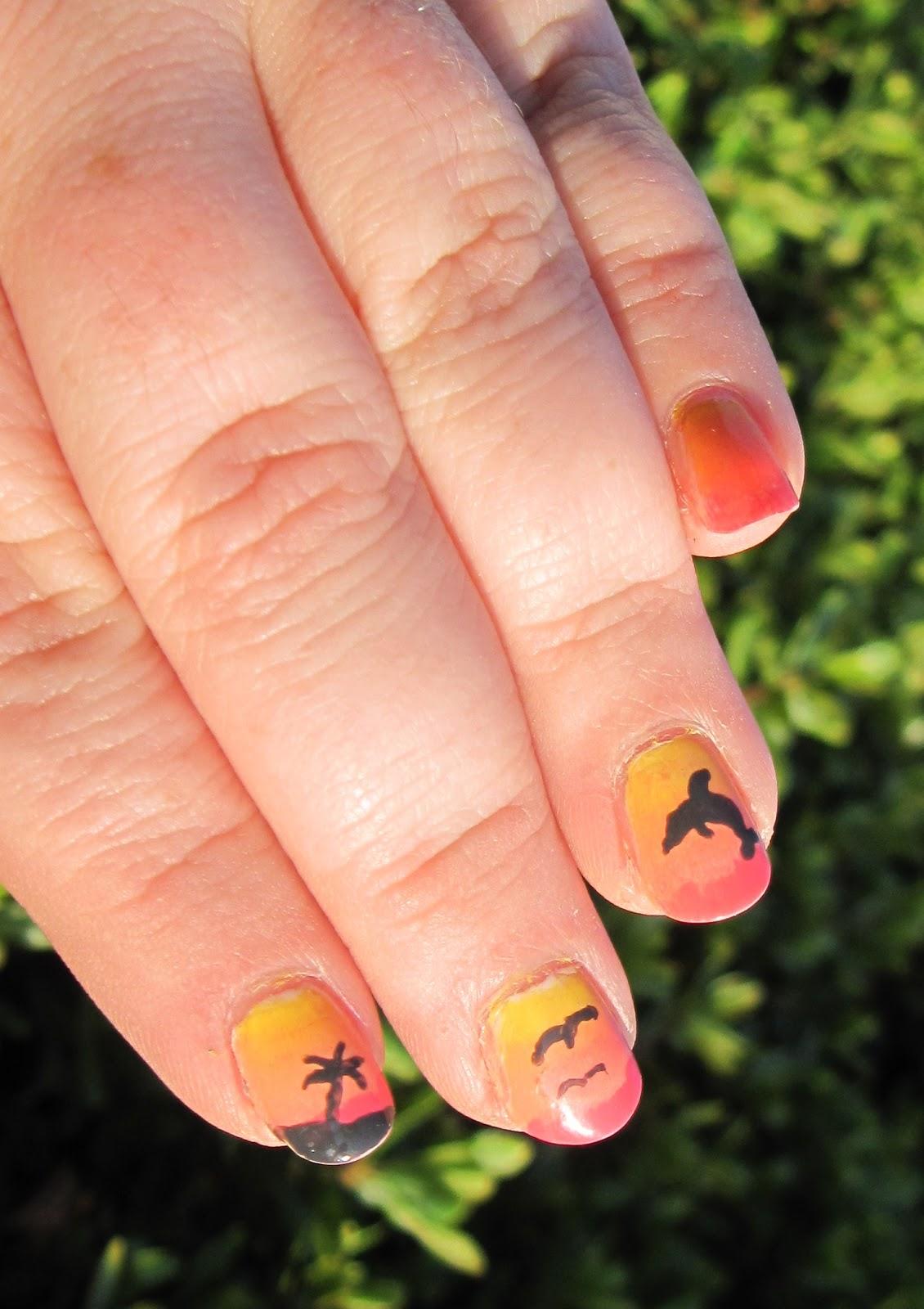 Nail-to-Nail Interpretations: 31 Nail Art Challenge Take Two Day 22 ...