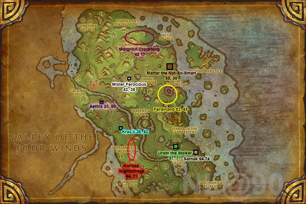 Pandaria raid locations related keywords pandaria raid for Terrace of the endless spring location