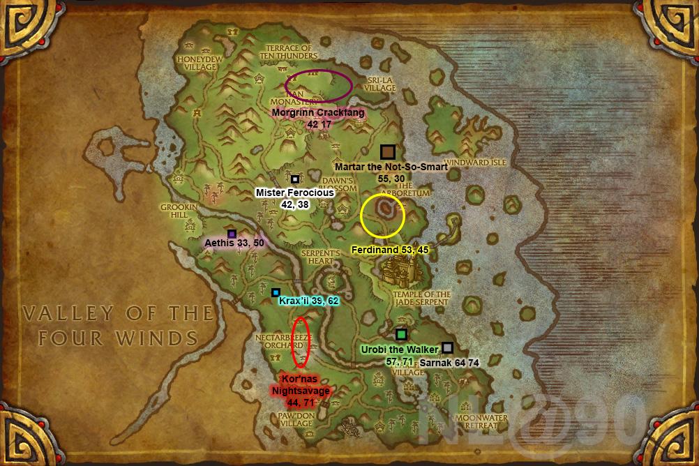 Pandaria raid locations related keywords pandaria raid for The terrace location