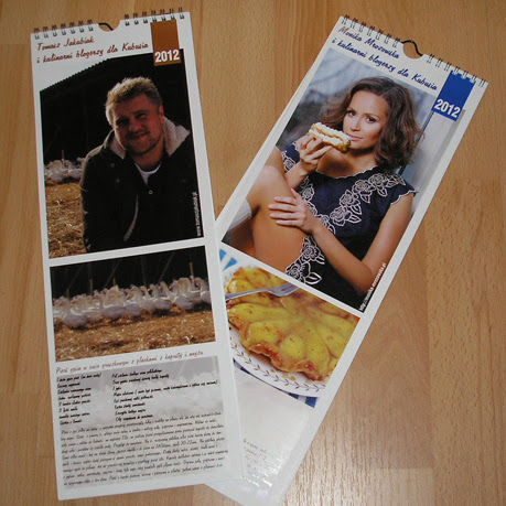 Kalendarze kulinarne  dla Kubusia