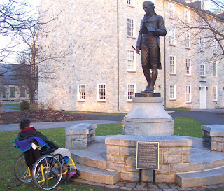 statue of Benjamin Rush, Dickinson College