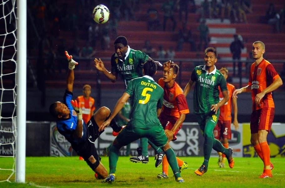 Pusamania Borneo Tahan Imbang Persebaya Surabaya 1-1