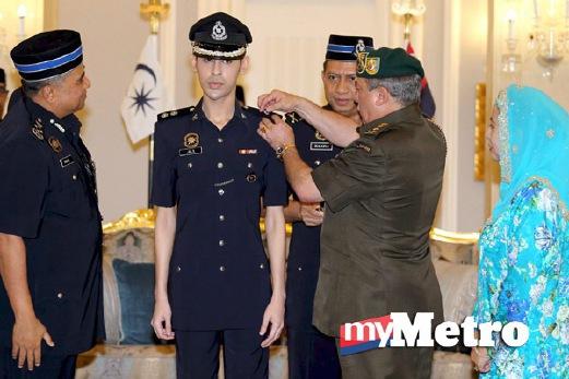 Tunku Abdul Jalil Di Tauliah Inspektor