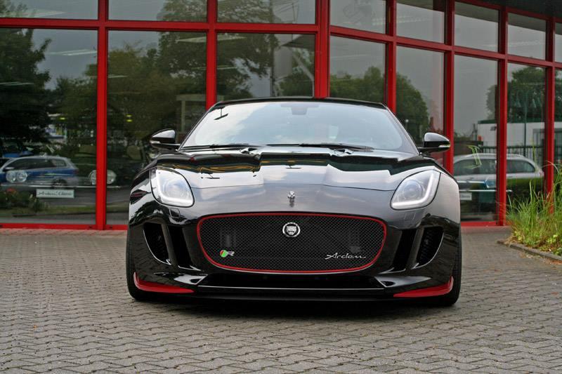 Arden Gives Jaguar F-T...