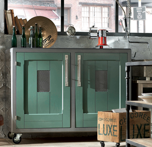 Cocinas de estilo vintage por marchi group decoraciones cocinas Baker group kitchen design