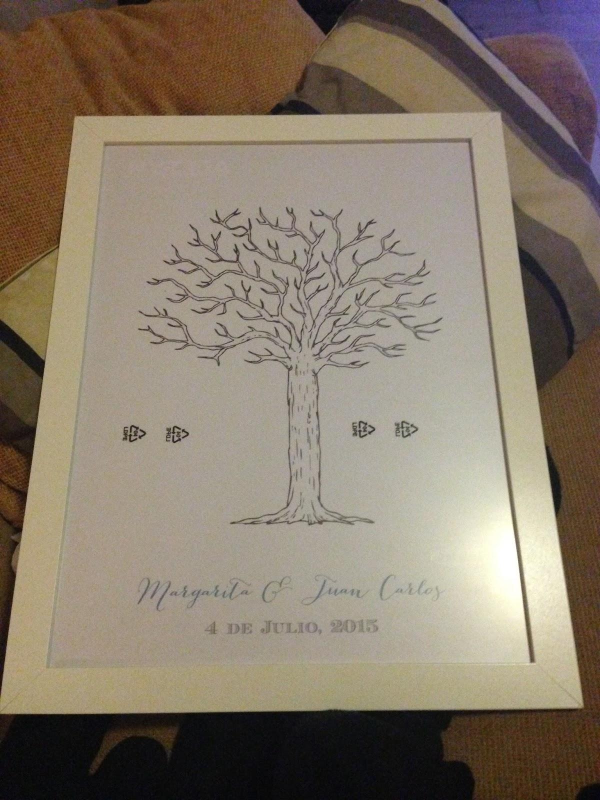 Blog de bodas - Yo dire que si: DIY: Crea tu propio árbol de huellas ...