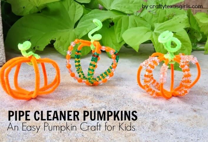 Crafty Texas Girls Craft It Easy Pumpkin For Kids