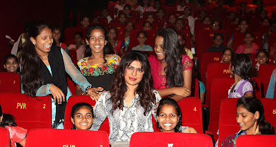Priyanka Chopra, Disney entertain underprivileged girls Photos