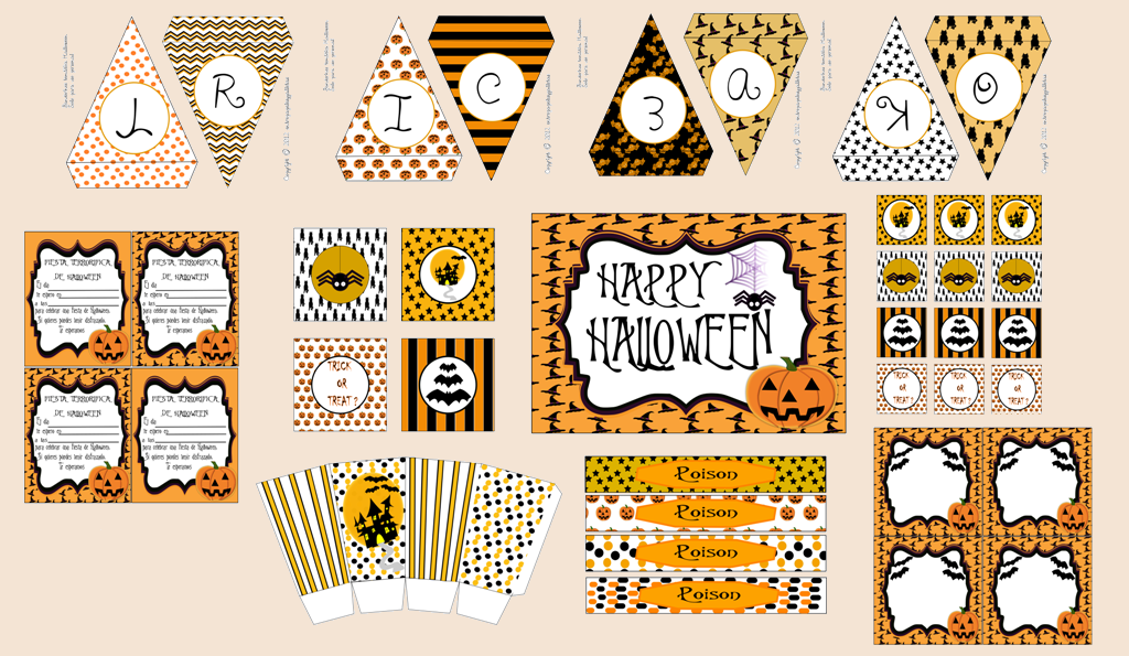 HALLOWEEN PARTY KIT PRINTABLE