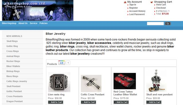 BikerringshopCom Ltd