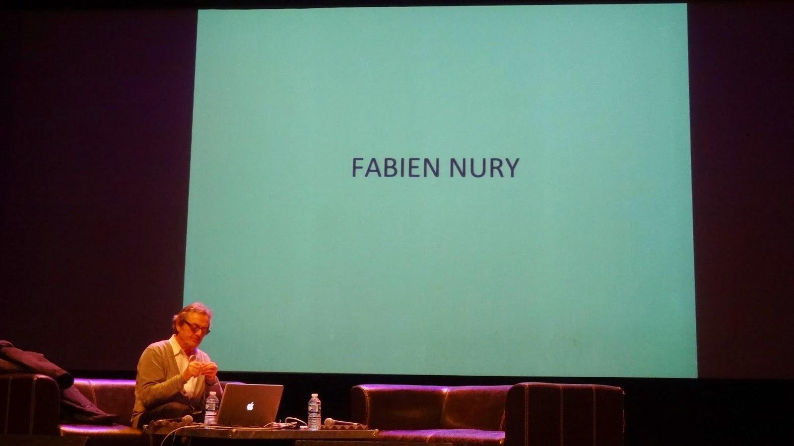 Conférence Nury, FIBD Angoulême 2015, installation