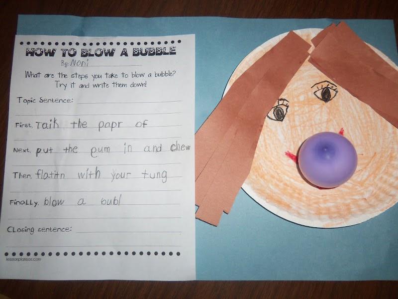 Mrs Wood S Kindergarten Class Bubble Day