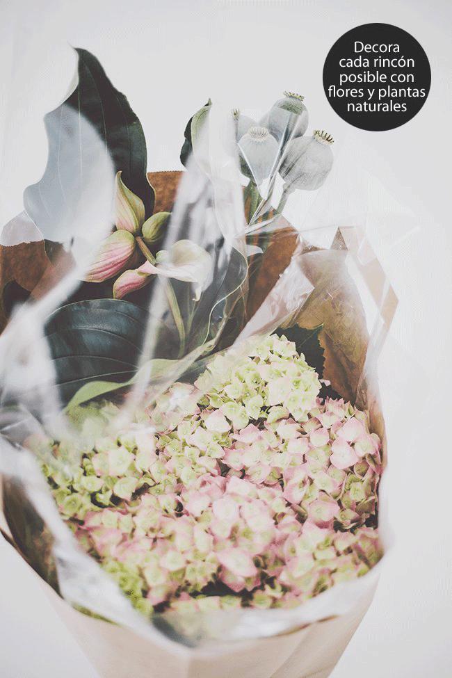 Decoración de flores otoñales