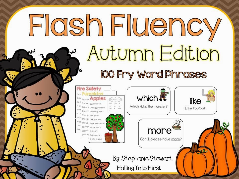 http://www.teacherspayteachers.com/Product/FLASH-FLUENCY-Fall-Fluency-884272
