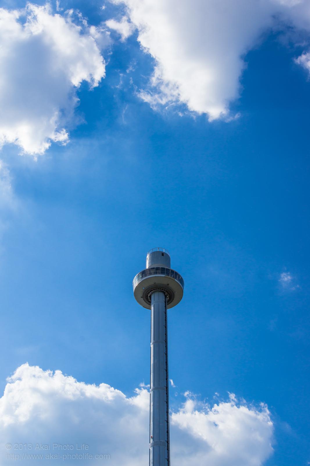 西武園ゆうえんちのジャイロタワーの写真