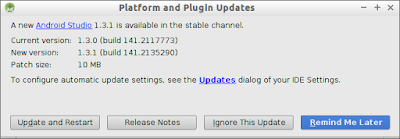 Android Studio 1.3.1 Is Available