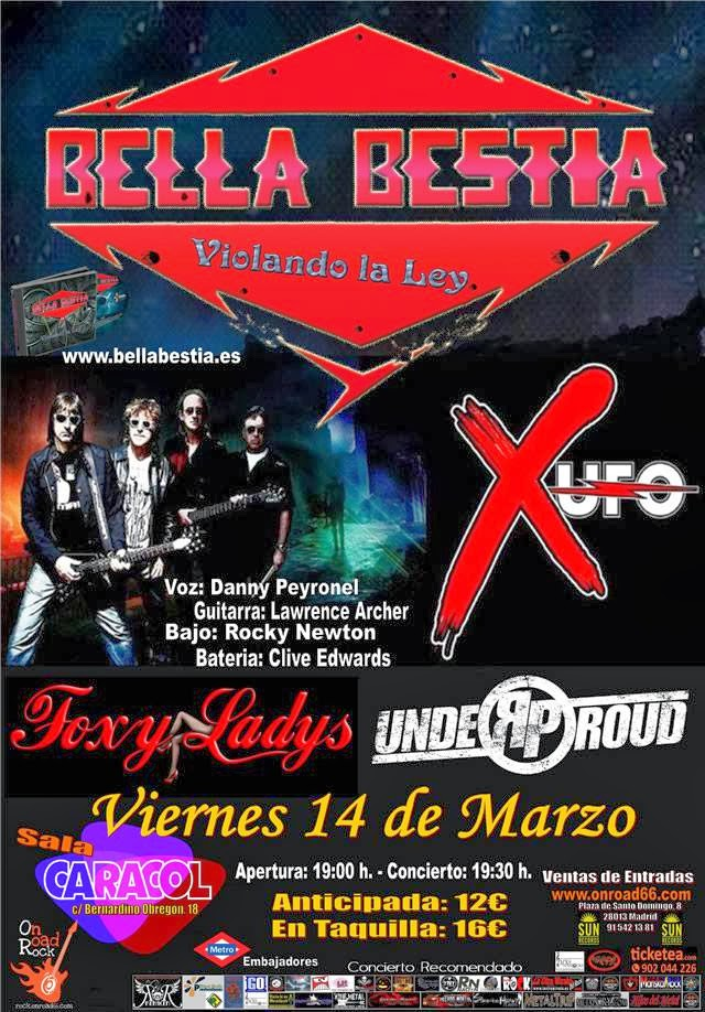 BELLA BESTIA X-UFO UNDER PROUD