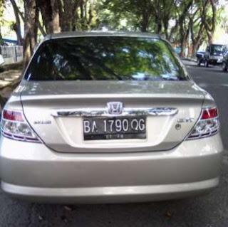 Jual Mobil Sedan Honda City Tahun 2003 Area Padang Sumatera Barat