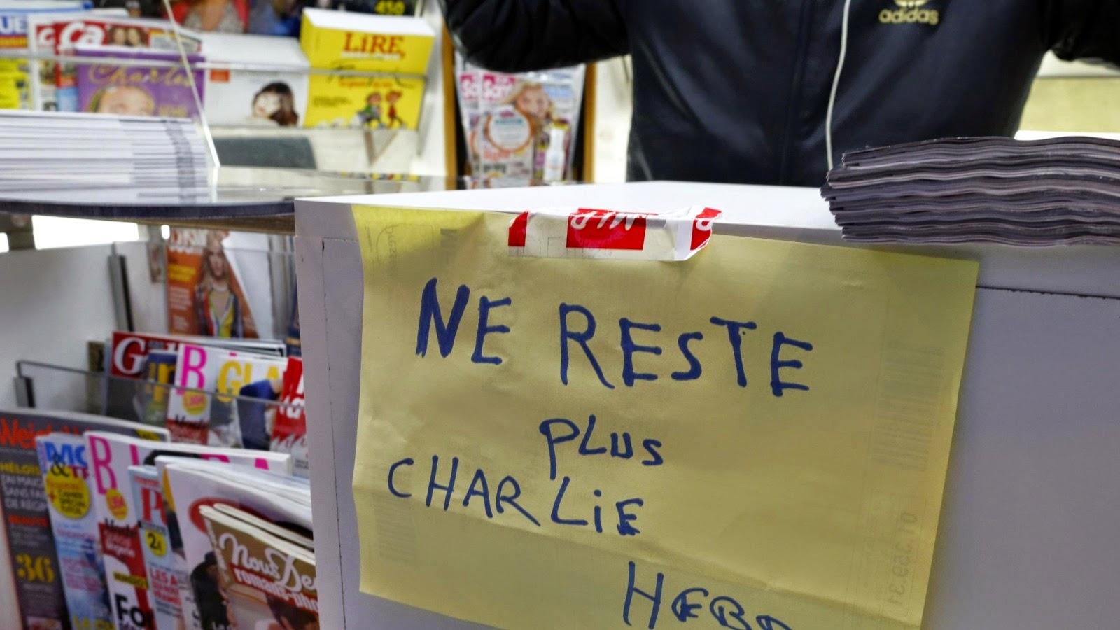 شارلي إيبدو تزيد نسخها وإدانة واسعة لنشرها رسم النبي(ص)
