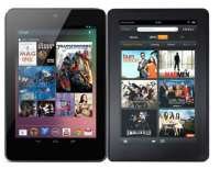 Kindle Fire vs Nexus 7