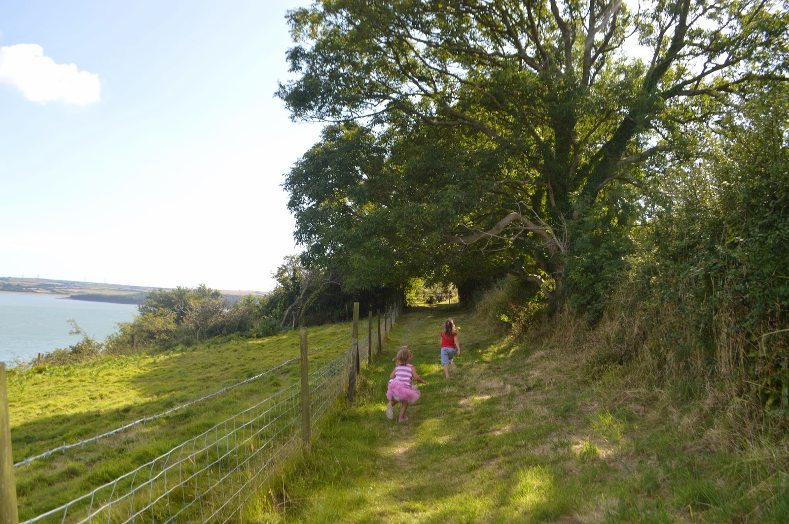 Hazelbeach, Pembrokeshire, Wales, walk, coastal path, beach, country kids