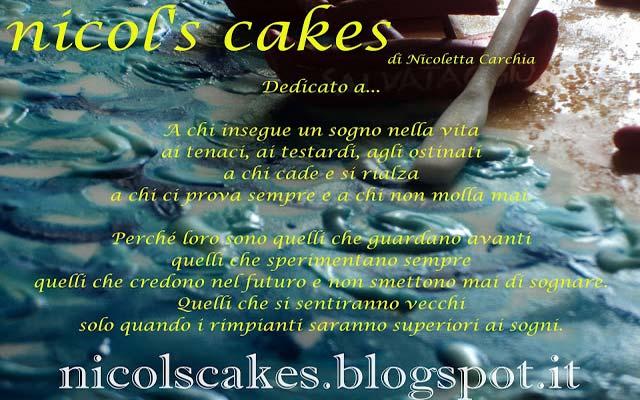 il trova blog presenta il blog: nicol's cake