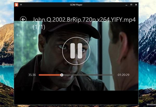 تطبيق GOM Player الرسمي متاح الان لويندوز 8 وويندوز 10