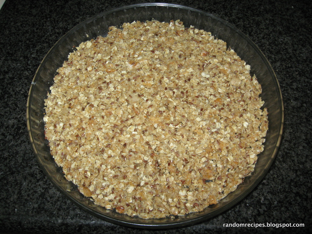base of crunchy flan