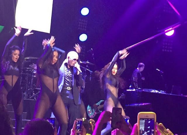 Pitbull at the PlentiTogether Live Show