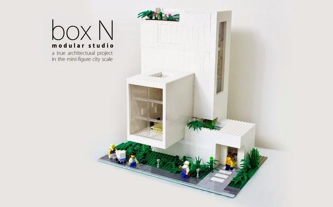 Modern Architecture Lego house lego