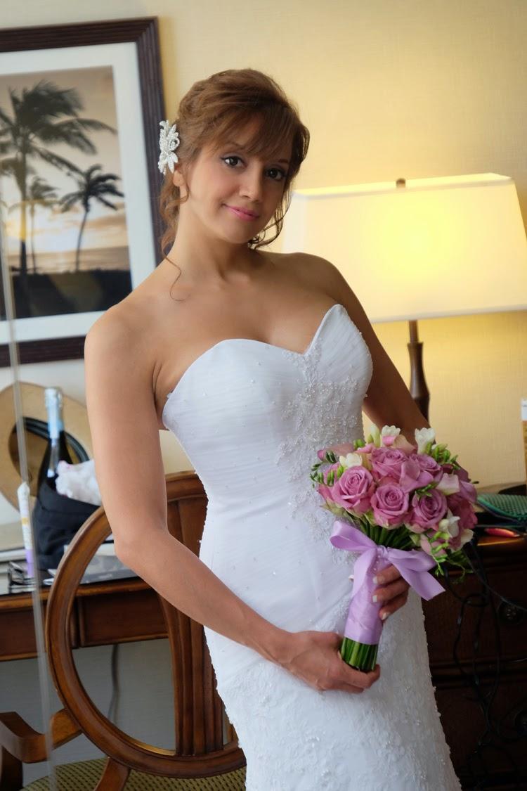 Bride in Room