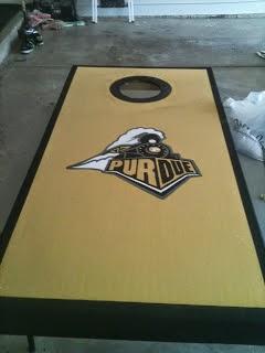 Purdue University Bean Bag Board