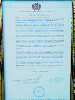 Personeria Juridica 375/2007