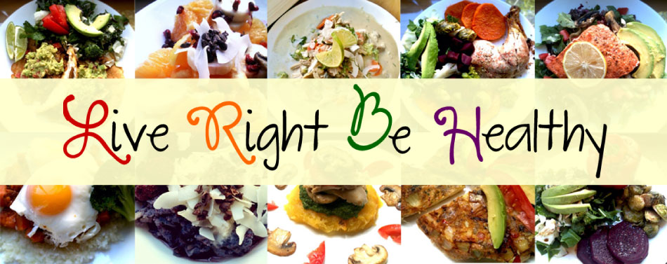 Live Right Be Healthy
