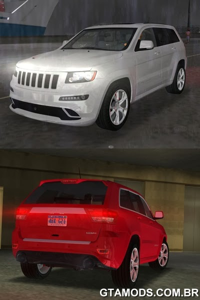 Jeep Grand Cherokee SRT-8 WK2