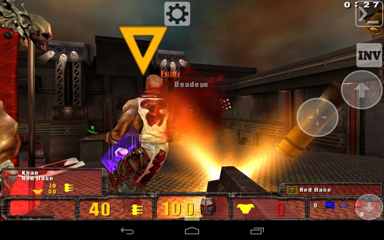 Скачать Quake 3 Touch на Андроид. Порт Квейк на Android