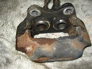 Old brake caliper Volvo Amazon