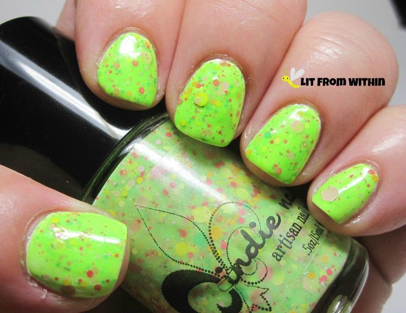 Jindie Nails Don't Get It Citrus Twisted