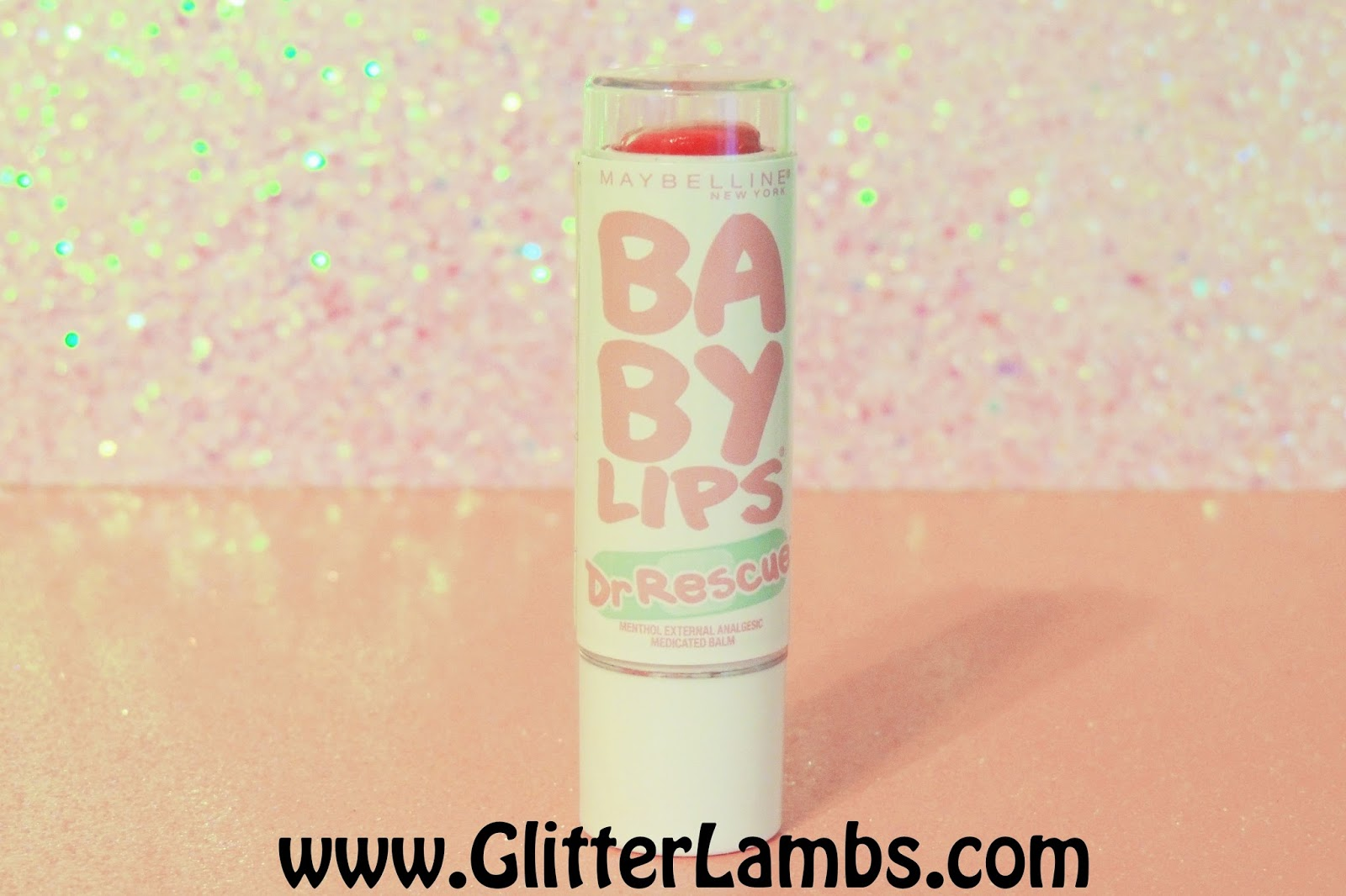 Maybelline Baby Lips Dr. Rescue Review  By Glitter Lambs